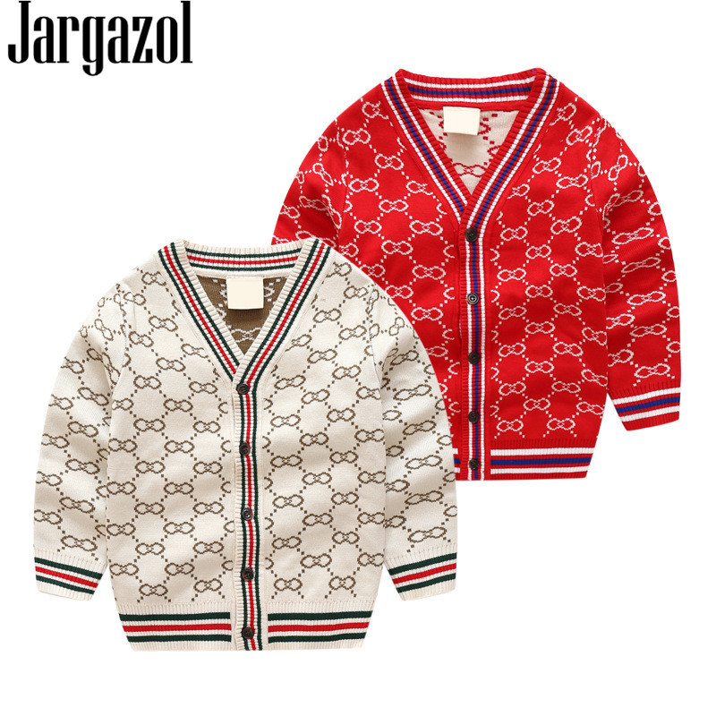 Hot Sale Kids Clothes Boys Sweater Baby Girls Cardigan Autumn Winter ...