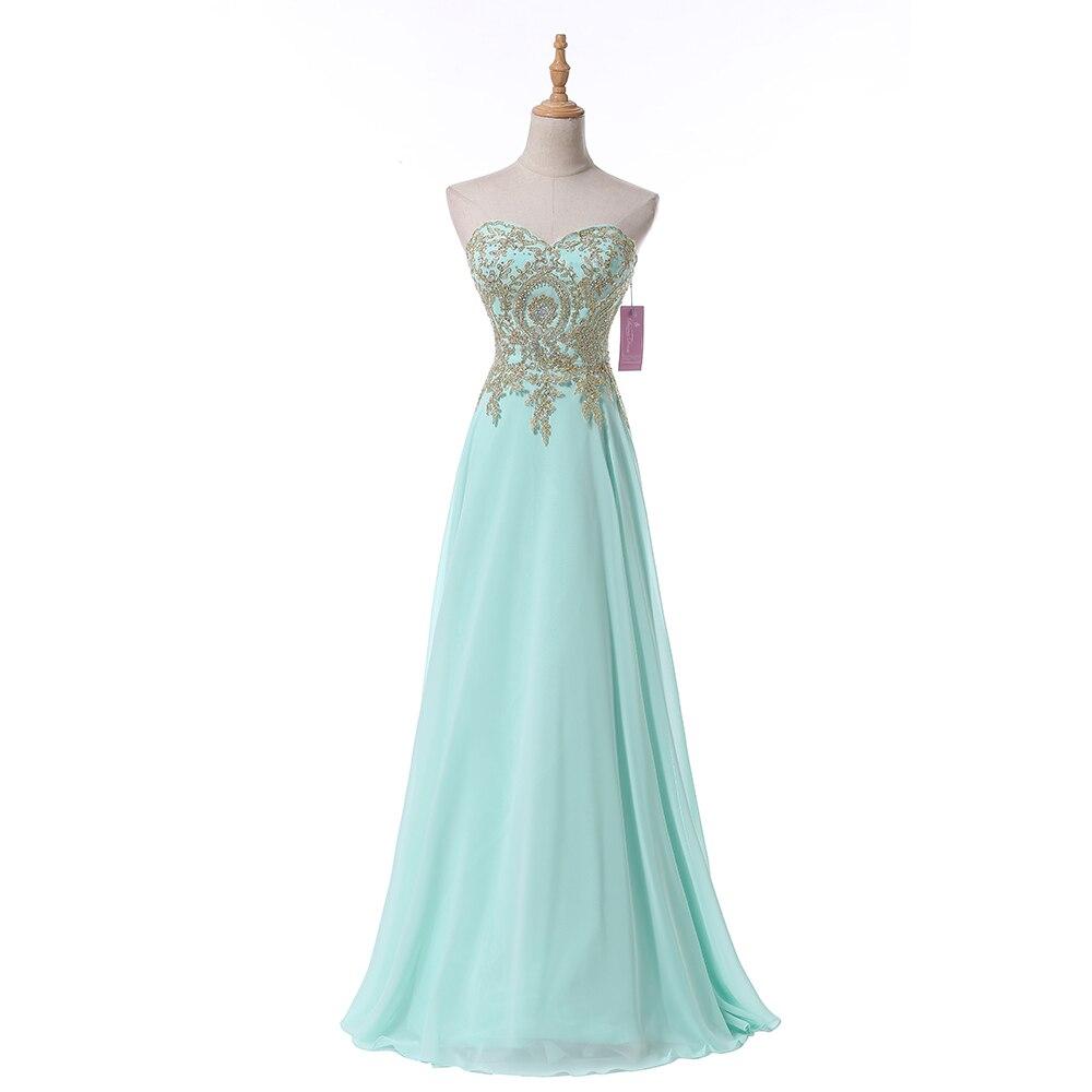 Robe De Soiree Sweetheart Long Evening Dress Party Elegant 2016 Lace Chiffon Prom Gowns Vestido De Festa Fast Shipping