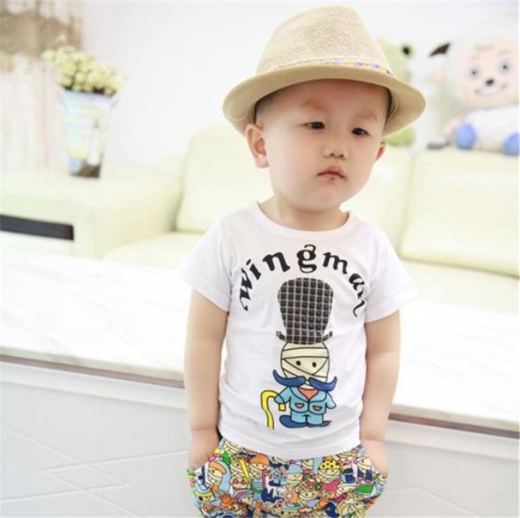 2015 yeni yay Koreya 100% Pambıq Moda Style uşaq geyimləri körpə - Uşaq geyimləri - Fotoqrafiya 3