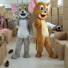 Том кошка и Джерри мышь маскарадный костюм Взрослый размер Том кошка и Джерри мышь маскарадный костюм