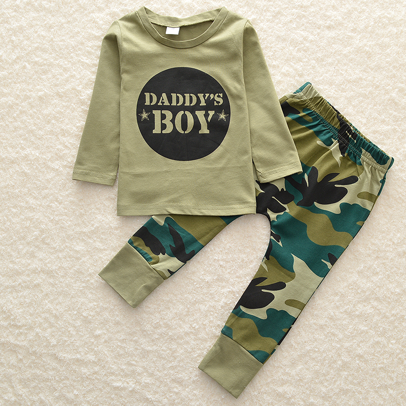 2017 new girl soldiers 3 sets of baby boy long sleeve uniforms sports suit baby girl clothes maternity dresses