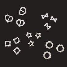 Новые бусины 100 шт/лот lvory в форме сердца звезды Скрапбукинг