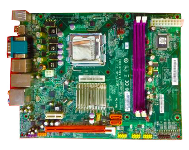 High quality MCP73T-AD GF7100 socket 775 DDR2 VGA HDMI Motherboard 100% tested perfect quality
