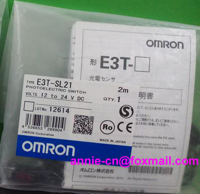 New and original  E3T-SL21,  E3T-SL11  OMRON Photoelectric sensor  Photoelectric switch   12-24VDC    2M  цены