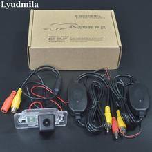 Ludmiła kamera bezprzewodowa do BMW X5 E53 E70/X6 E71/tylna kamera samochodowa/kamera cofania/HD Night Vision łatwa instalacja