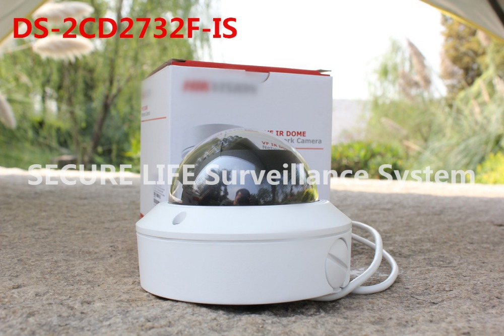 English version in stock DS-2CD2732F-IS 3MP IR network ip security camera vari focal lens,dome CCTV camera supporting SD card free shipping in stock new arrival english version ds 2cd2142fwd iws 4mp wdr fixed dome with wifi network camera