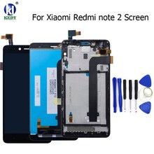 Хорошее Для Xiaomi Redmi Note 2 ЖК-дисплей Дисплей + Сенсорный экран планшета в сборе Ремонт для Xiaomi Hongmi Примечание 2