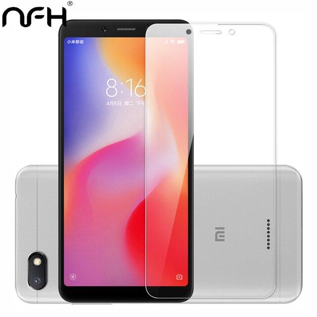 """1 pcs 2 pcs Redmi 6A Tempered glass Cho Xiaomi Redmi 6 5.45 """"Redmi 6A Điện Thoại bảo vệ Màn Hình 9 H Cứng Trường Hợp Trên Redmi6 6 MỘT 2.5D Thủy Tinh"""