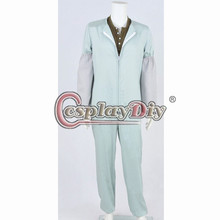 Cosplaydiy Dexter Morgan Cosplay Costume Jumpsuit Overalls+ T Shirt Costumes For Adult Halloween Custom Made D0813