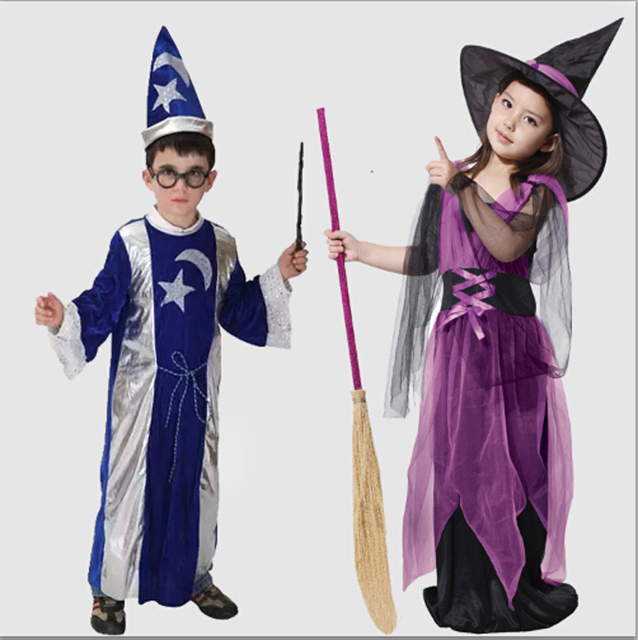 Masquerade Halloween costume apparel clothing ghost clothes witch wizard Harry Potter childrenu0027s horror boys and  sc 1 st  AliExpress.com & Masquerade Halloween costume apparel clothing ghost clothes witch ...