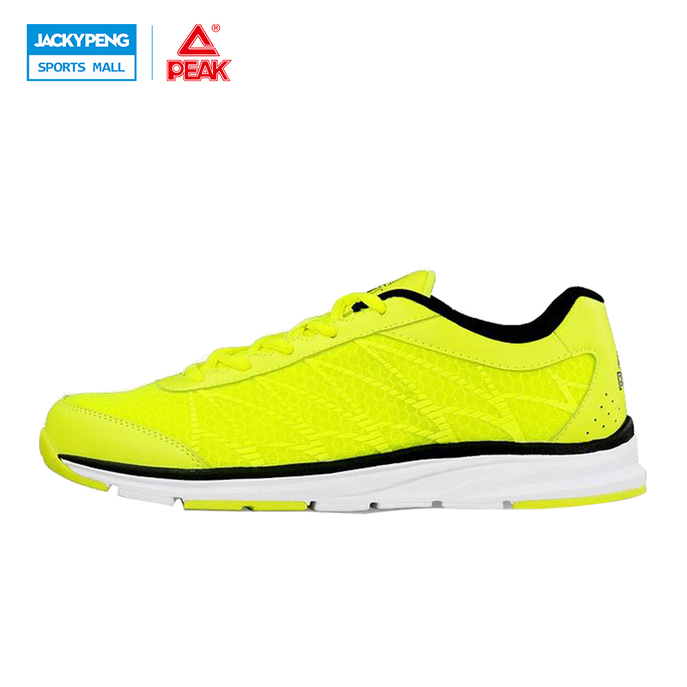 PEAK Outdoor New comfortable breathable men athlet shoes Super Light running shoes super cool sport shoes sneakers