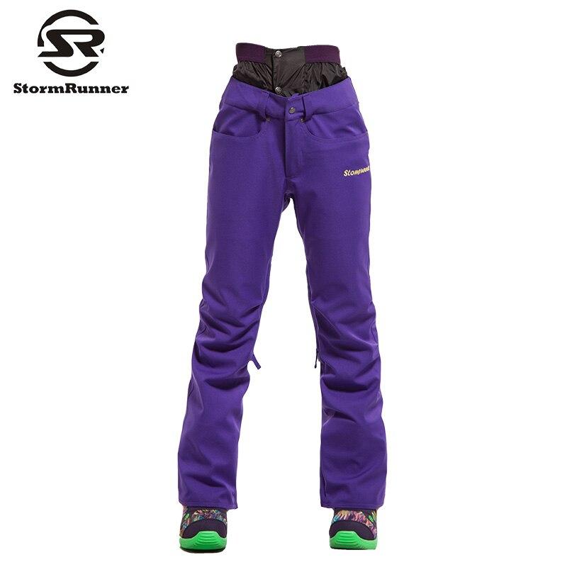 Livraison gratuite femmes Ski pantalon Camouflage Ski pantalon femme Snowboard pantalon imperméable 10 K hiver extérieur neige Skiwear - 4