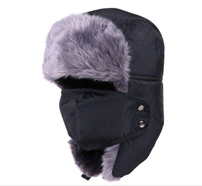 2016 Fashion font b Winter b font Outdoors Warm font b Hat b font for Man