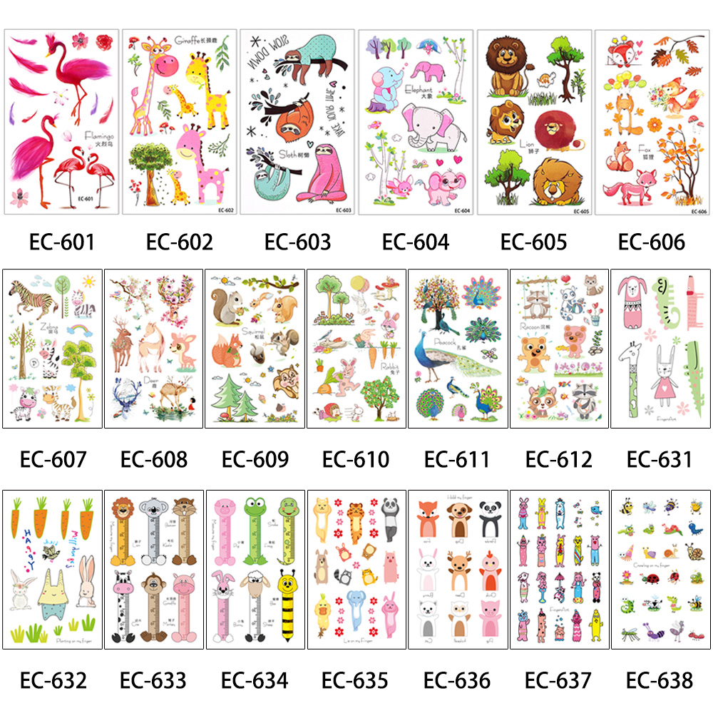 Image 4 - 500 Pieces Wholesale Health Beauty Body Art Temporary Tattoo Henna Jewelry Belle Decal Design Tattoos Sticker Makeup New Arrival-in Temporary Tattoos from Beauty & Health
