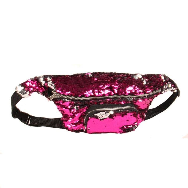 SAFEBET Märke Mode Kvinnor Mermaid Talje Packs Multifunktionella 3D - Bälten väskor - Foto 3