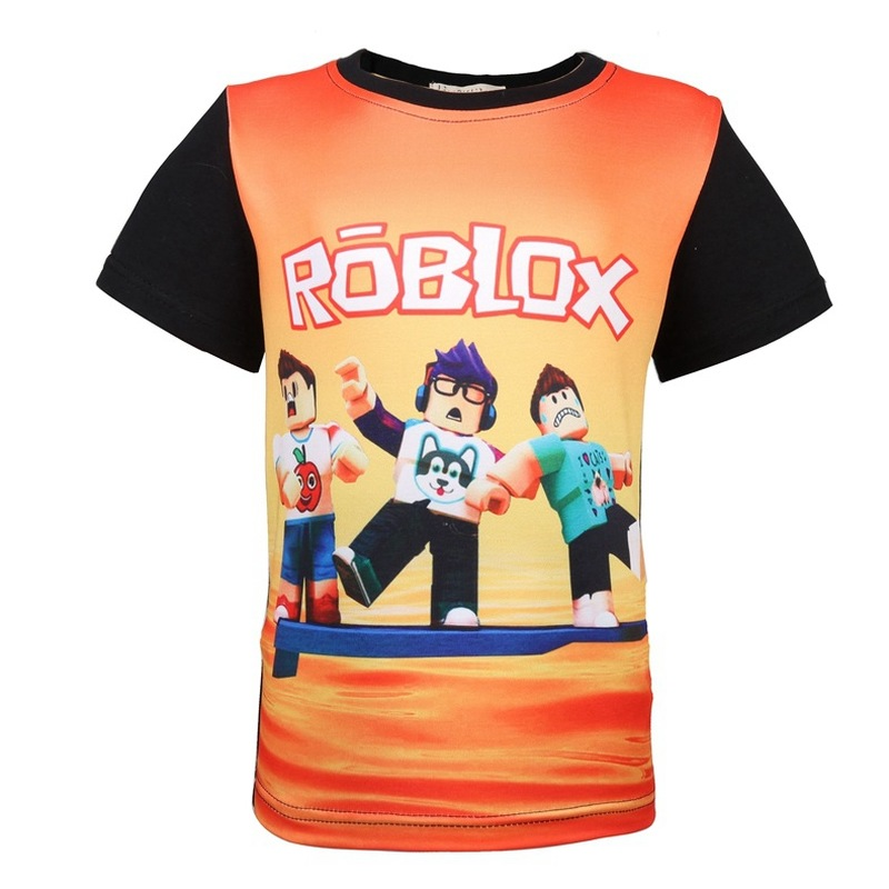 Kids Roblox Cartoon Boys Girls Christmas T Shirt Tshirt Xmas Game 7 To Enjoy High Reputation In The International Market T-shirts, Tops & Shirts
