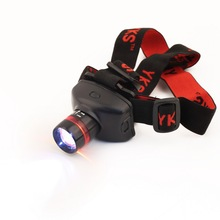 4 Mode LED Headlamp Headlight Ultra Bright and Durable, Ideal for Camping, Hiking, Fishing and Reading Brand New