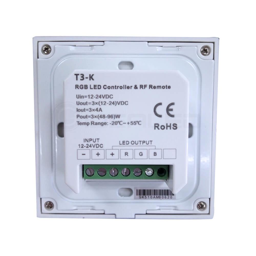 Dimmer Knob Touch LED Nəzarətçi Dönüşlü Divarda Panelə - İşıqlandırma aksesuarları - Fotoqrafiya 2