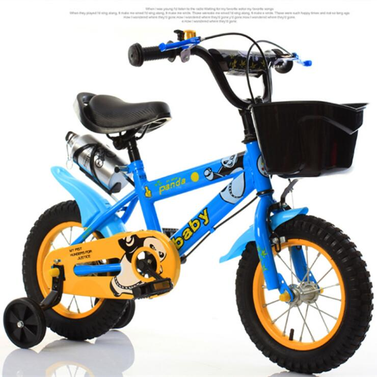 Детский велосипед 12 дюймов 14 дюймов 16 дюймов велосипед детская коляска велосипед для детей четыре колеса велосипед 3 8 лет - 6
