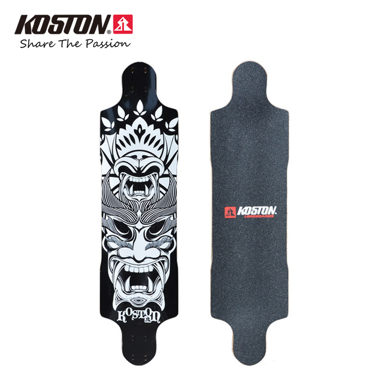 Koston Professional Longboard Deck Tailsman For Downhill Racing 39 Inch 9ply Canadian Maple Laminated Long Skateboard Deck LD201 koston lb202 downhill and freeride style complete longboard