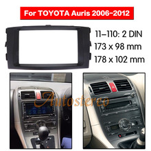 Car Radio Fascia Surround For 2006-2012Toyota Auris Car Radio Refitting Outter Frame For 2006-2012Toyota Auris 2DIN
