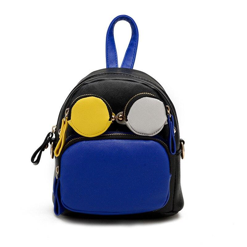 d62e392f18eb 2018 детская новая женская сумка хит цвет сумки на ремне женские корейские  персонализированные Повседневный Рюкзак Дорожная Сумка