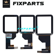 New Free Shipping Black Front Glass Touch Screen Digitizer Replacement Touch Panel For Apple Watch Series 1 38 /42mm Touchscreen high quality gigabyte gsmart roma r2 capacitive touch screen digitizer front glass replacement touchscreen free shipping tools