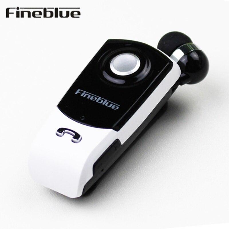 Fineblue F960 Auricolare Bluetooth Handsfree Senza Fili Auricolari Cuffie con Microfono Chiamate Ricordano Usura Vibrazione Clip di Driver