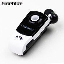 Fineblue F960 Bluetooth Наушники Беспроводной Громкой Связи Наушники Гарнитура с Микрофоном Звонки Напомнить Износ Вибрации Клип Водитель