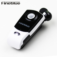 Fineblue F960 Bluetooth Stereo Earphone Wireless Handsfree Earbuds Headset With Mic Calls Remind Vibration Wear Clip