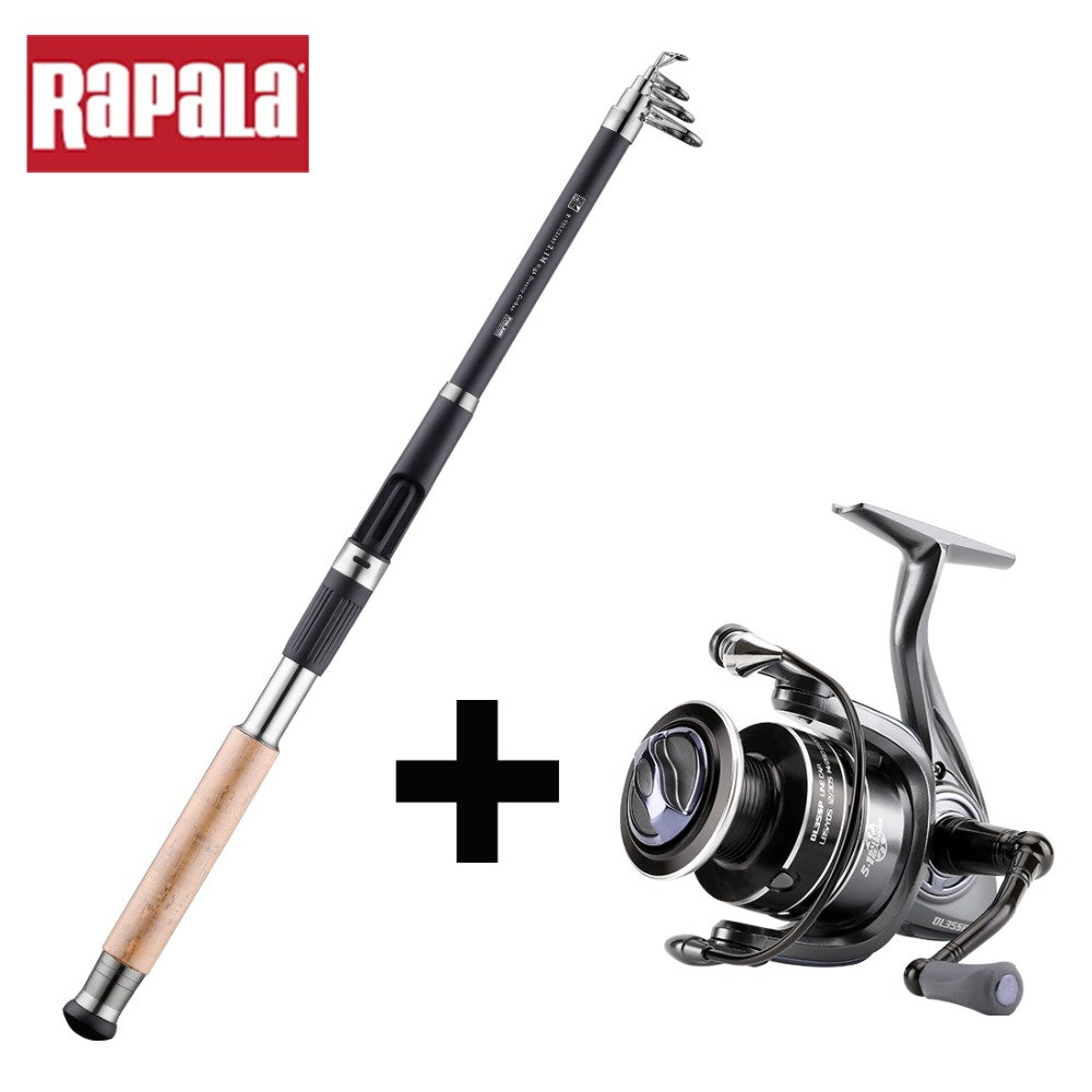Brand Fishing Rod Combo THUNDER STICK 1 8m 3 6m Telescopic Rods DELTA 15SP 25SP 35SP