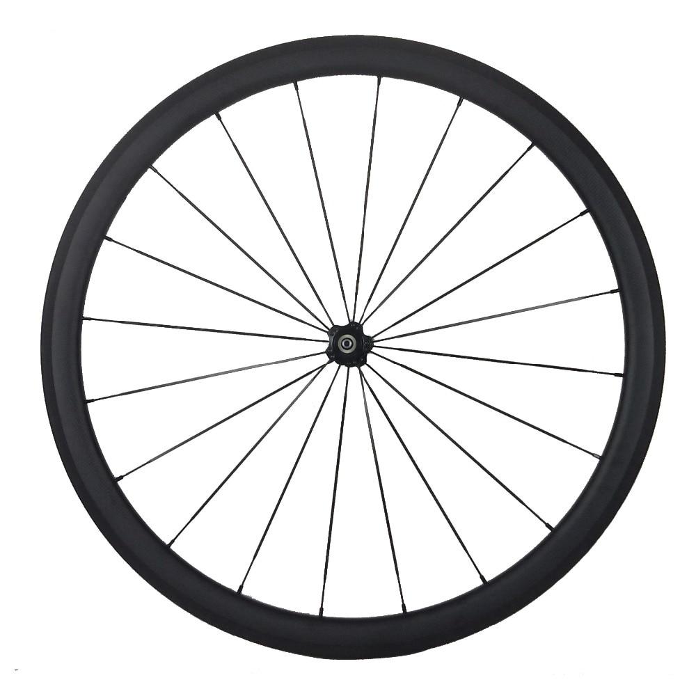 Velocity Full Carbon 700C Mischradsatz 23mm Breite 38mm + 50mm Tiefe - Radfahren - Foto 3