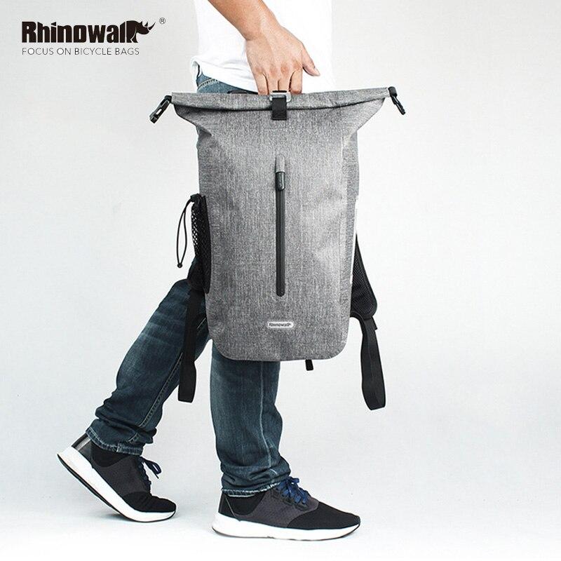 RHINOWALK sac à dos de VTT extérieur étanche pour hommes haute capacité 25 L sacs de vélo équitation vélo sacs à dos de sport