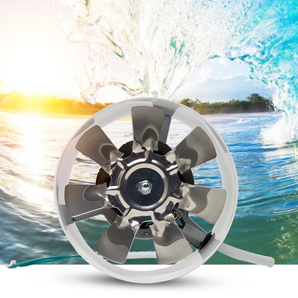 Ventilateur en métal 220V | Ventilateur à conduit silencieux de 4 pouces, ventilateur en ligne, évacuation de l'air, refroidissement de la cuisine, salle de bains, Ventilation de la cuisine