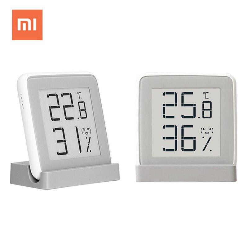 Xiaomi mijia digital indoor termômetro higrômetro estação meteorológica inteligente eletrônico de temperatura e umidade medidor de umidade do sensor