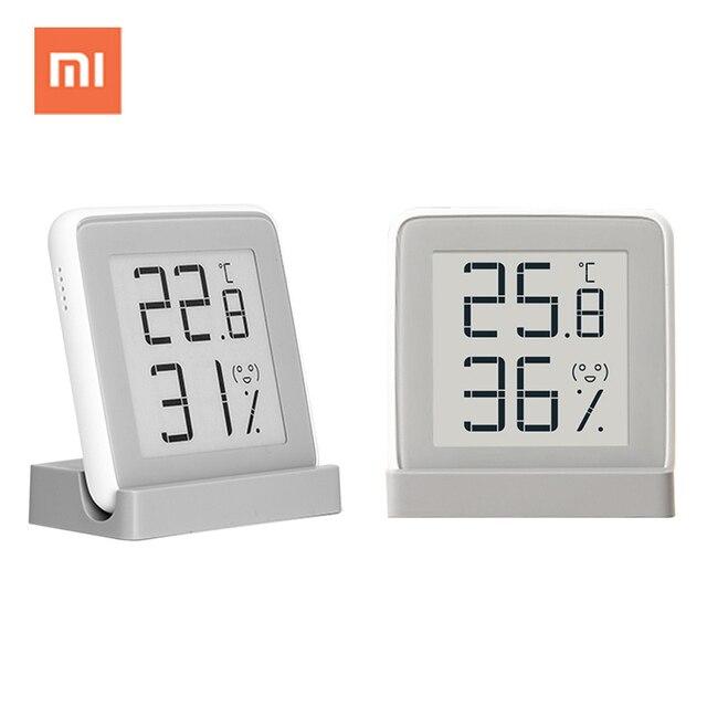 Xiaomi mijia цифровой крытый гигрометр термометр Метеостанция Умные Электронные Температура Влажность сенсор измеритель влажности