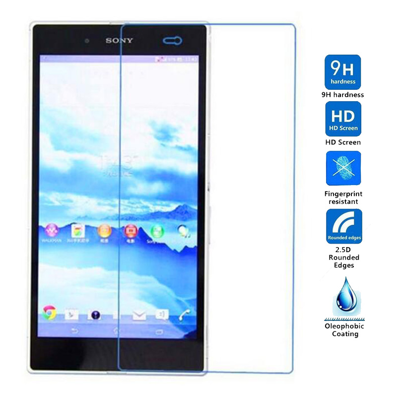 2PCS  Tempered Glass For Sony Xperia Z Ultra XL39H C6833 C6806 L4 Screen Protector Protective Film For Sony XL39H Glass
