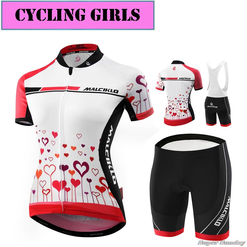 New Arrival Women's Cycling Jerseys Female Bike Race Jersey Summer Bicycle Wear Set Short Sleeve Sports Clothings Free Shipping 176 top quality hot cycling jerseys red lotus summer cycling jersey 2017s anti uv female adequate quality sleeve cycling clothin