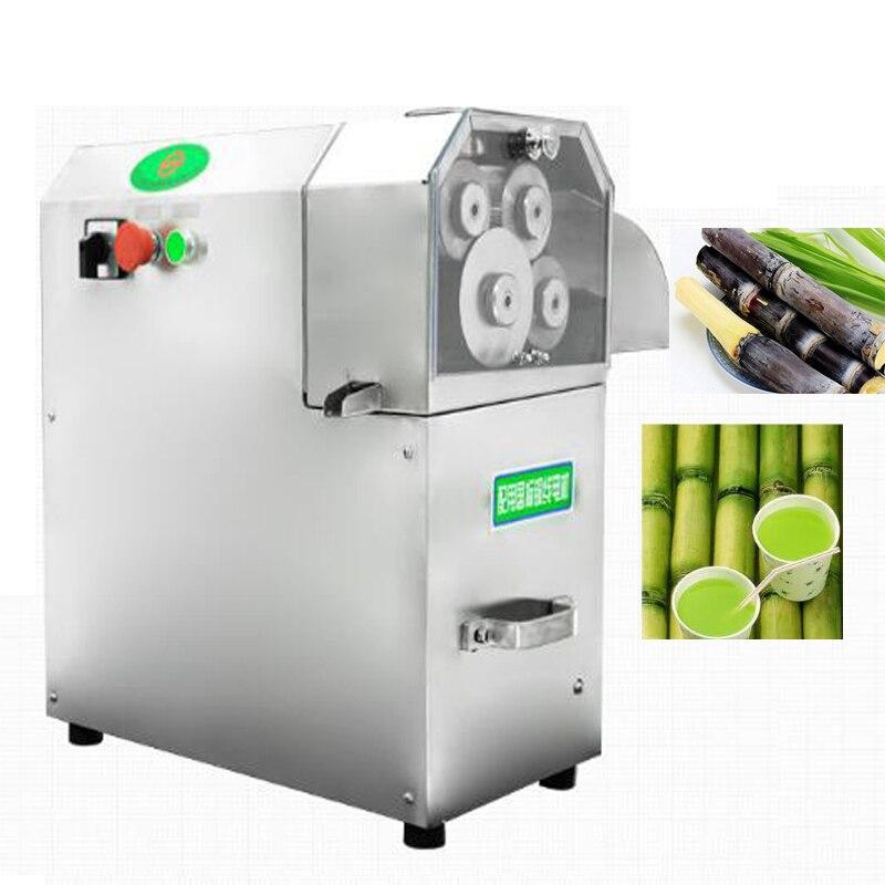 1pc QJH L100B vertical sugarcane juice machine 4 rollders cane juice squeezer machine cane crusher Sugar cane juicer 110/220V