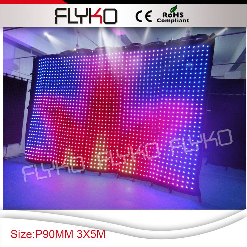 Discount price free shipping to Spain led video decoration