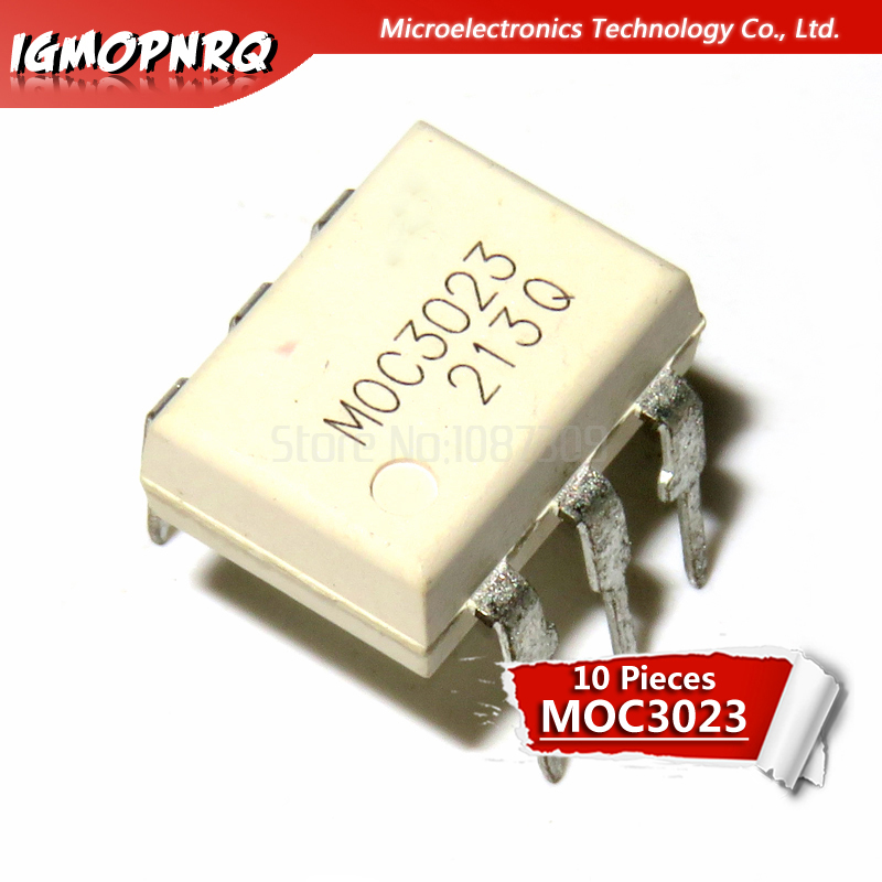 2PCS MOC3052 Triac Driver IC Optoisolator Photocoupler Optocoupler DIP-6