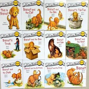 Image 2 - 24 ספרים/סט ביסקוויט סדרת פונטיקה אנגלית ספרי תמונות אני יכול לקרוא ילדי ספר סיפור מוקדם Educaction כיס קריאה ספר