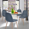 Aingoo Новая Ткань Эйфелева Обеденный Стул Многофункциональный Кресло Стул Мода Офис Отдыха Мебель, Обеденный Стул