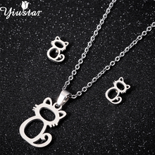 Hello Kitty Stainless Steel Necklaces