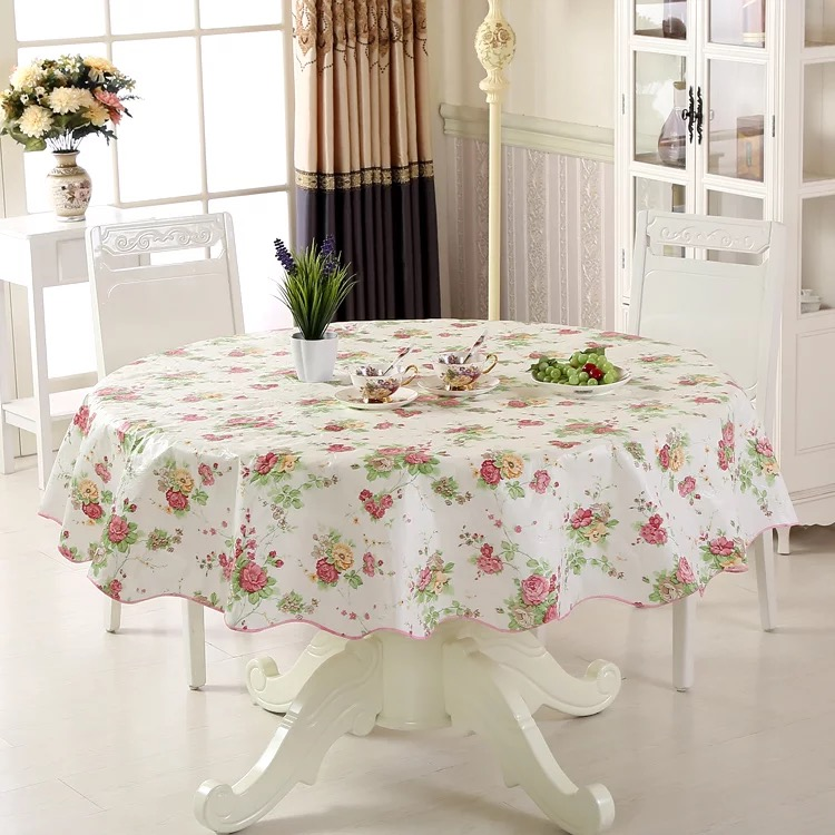 Waterproof & Oilproof Wipe Clean PVC Vinyl Tablecloth Dining Kitchen Table Cover Protector OILCLOTH FABRIC COVERING