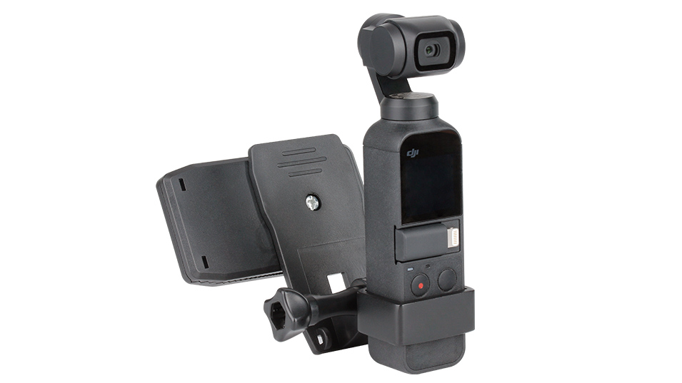 DJI Osmo Pocket Clamp Holder Kit OP-3 Extension Fixed Stand Bracket Holder w Charging Base Mount, Osmo Pocket Gimbal Accessories 2