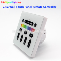 NEW 2 4G RGBW LED Wall Touch Panel Remote Controller Led Dimmer For Milight Rgbw Rgbww