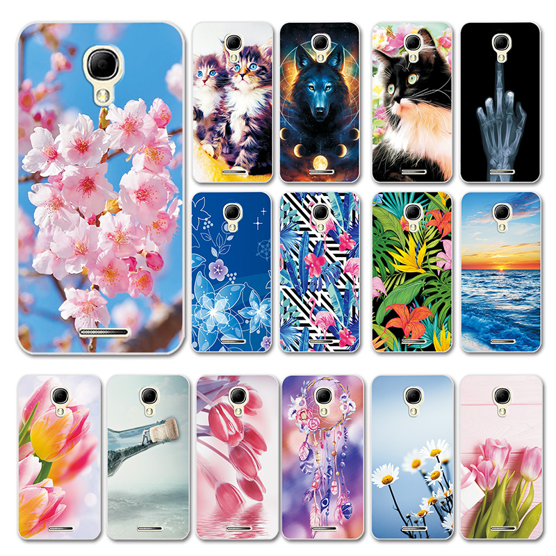 Bags Bumper Daisy Back-Phone Love-Heart-Case Alcatel OT One-Touch-Pixi For 4-5010d-Case