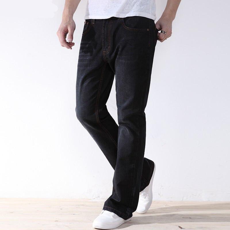 Men Plus Size Pants Jeans Strech Comfortable 38 40 42 44 46 48 Mens High Stretch Large Trouser Loose Jeans For Men