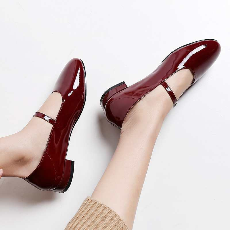 Подробнее о Krazing Pot new fashion brand shoes patent leather round toe party low heel sweet buckle women pumps lady mary jane shoes 00 krazing pot new fashion brand gold shoes patent leather square toe preppy style med heels buckle women pumps mary jane shoes 90